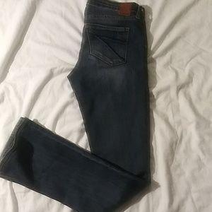 Dear John Hybird Skinny Bootcut Jeans